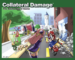 Collateral Damage: The Anime Board Game