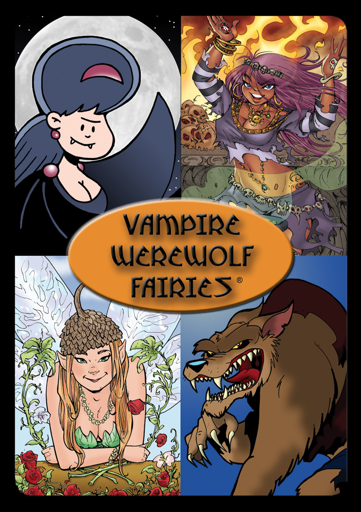 Vampire Werewolf Fairies